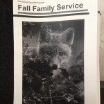 Fall Family Service Booklets